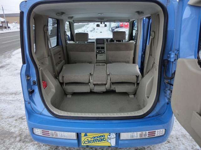 日産 キューブ 14S FOUR プラスナビHDD 4WD ETC