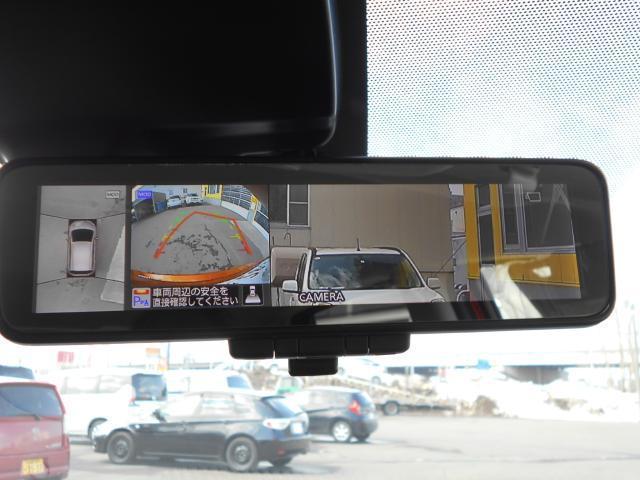 アラウンドビューモニター搭載!  上空から見下ろしたかのような映像が映し出されて車両の周囲を確認することが出来るので安心です♪
