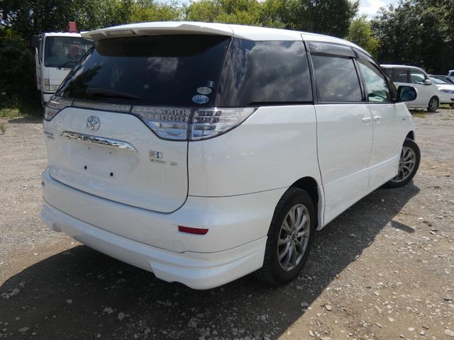 「トヨタ」「エスティマハイブリッド」「ミニバン・ワンボックス」「北海道」の中古車7