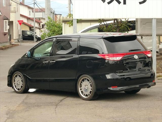 トヨタ エスティマ アエラス レザーパッケージ 4WD ワンオーナー