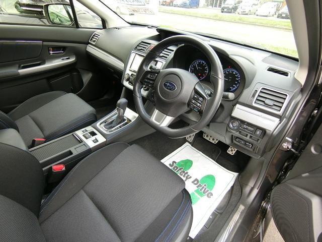 1.6GT-Sアイサイト 4WD 本州車 レーダークルーズコントロール 純正SDナビ フルセグ バックカメラ パドルシフト プッシュスタート ドライブレコーダー LEDヘッドライト SIドライブ パワーシート(7枚目)
