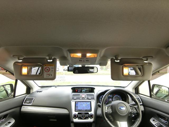 1.6GT-Sアイサイト 4WD 本州車 レーダークルーズコントロール 純正SDナビ フルセグ バックカメラ パドルシフト プッシュスタート ドライブレコーダー LEDヘッドライト SIドライブ パワーシート(12枚目)