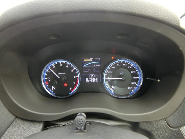 1.6GT-Sアイサイト 4WD 本州車 レーダークルーズコントロール 純正SDナビ フルセグ バックカメラ パドルシフト プッシュスタート ドライブレコーダー LEDヘッドライト SIドライブ パワーシート(18枚目)