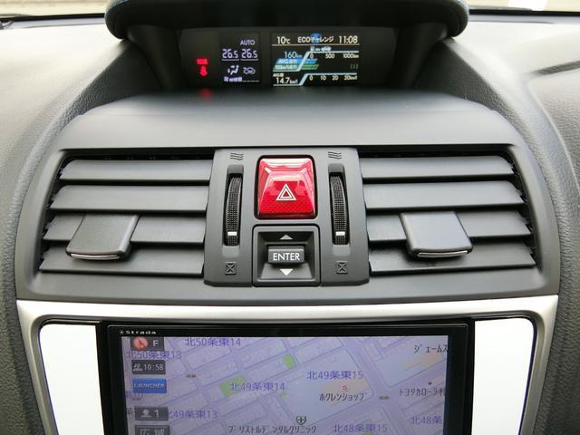 1.6GT-Sアイサイト 4WD 本州車 レーダークルーズコントロール 純正SDナビ フルセグ バックカメラ パドルシフト プッシュスタート ドライブレコーダー LEDヘッドライト SIドライブ パワーシート(25枚目)