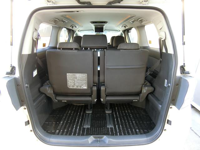 ZR 4WD ワンオーナー車 寒冷地仕様 3列7人乗り フリップダウンモニター コーナーセンサー 両側パワースライドドア クルーズコントロール 純正HDDナビ バックカメラ プッシュスタート ETC AFS(50枚目)