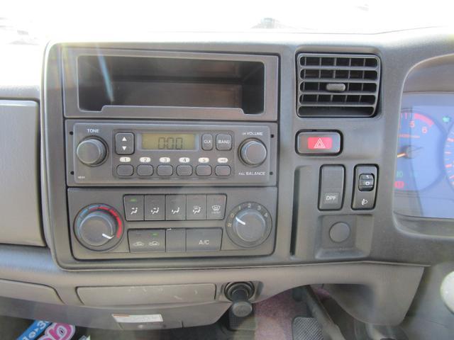 ラジオ!エアコン!DPFスイッチ!