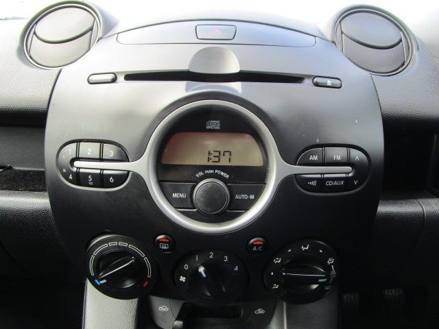 マツダ デミオ 13C FF 5速マニュアル CDチューナー