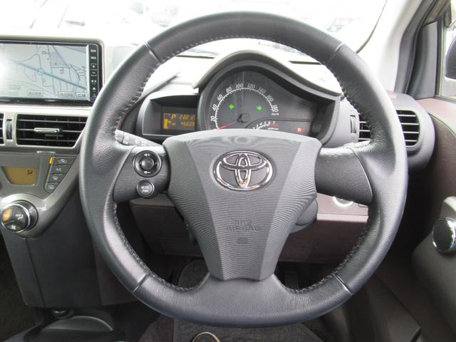 トヨタ iQ 100G FF CVT TRC HDDナビ プッシュスタート