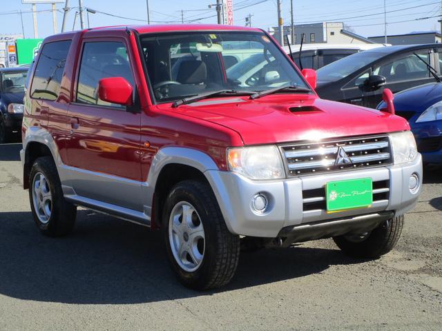 三菱 パジェロミニ ナビエディションVR ターボ 4WD 4AT HDDナビ