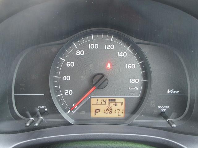 トヨタ ヴィッツ F 4WD CVT 純正SDナビ Eスターター キーレス