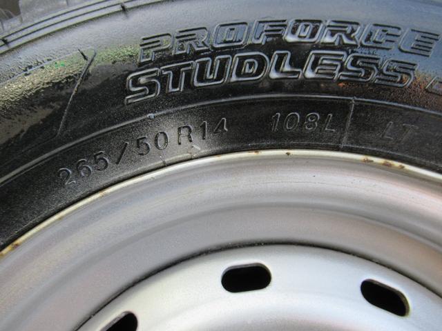 リヤタイヤ!265/50R14 108L LT