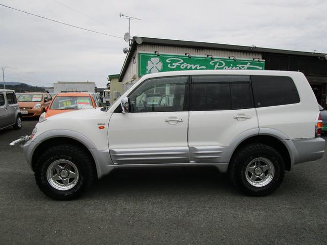 ロング エクシード 3.5L 4WD オートクルーズ バックカメラ リヤヒーター 1ナンバー登録変更可(5枚目)