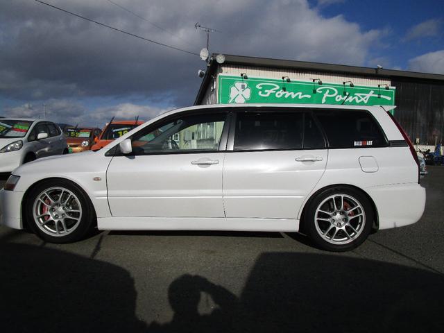 エボリューションGT-A HKS車高調 ブレンボキャリパー レカロシート SDナビ 社外マフラー(5枚目)