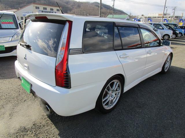 エボリューションGT-A HKS車高調 ブレンボキャリパー レカロシート SDナビ 社外マフラー(6枚目)