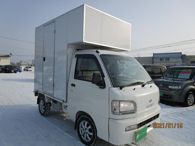 パネルバン 4WD キッチンカー仕様 換気扇 外部コンセント(4枚目)