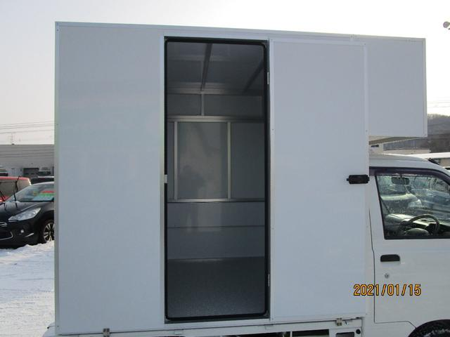 パネルバン 4WD キッチンカー仕様 換気扇 外部コンセント(6枚目)