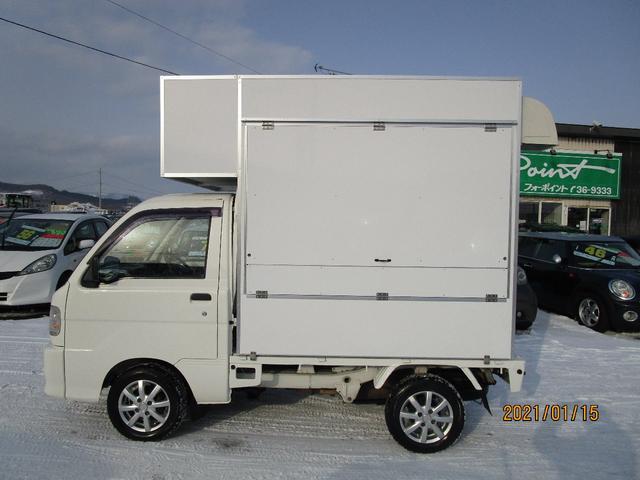 パネルバン 4WD キッチンカー仕様 換気扇 外部コンセント(7枚目)