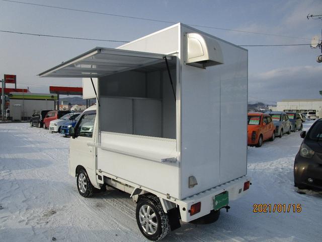パネルバン 4WD キッチンカー仕様 換気扇 外部コンセント(13枚目)