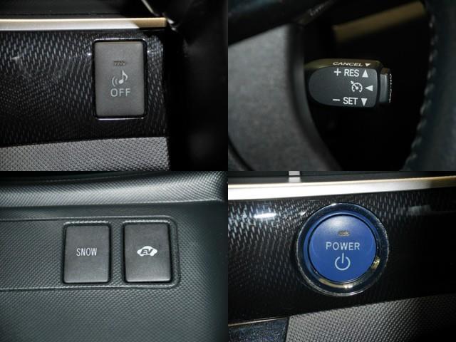 車輌接近通報OFF/クルーズコントロール/SNOWモード、EVモード/プッシュ式エンジンスタート