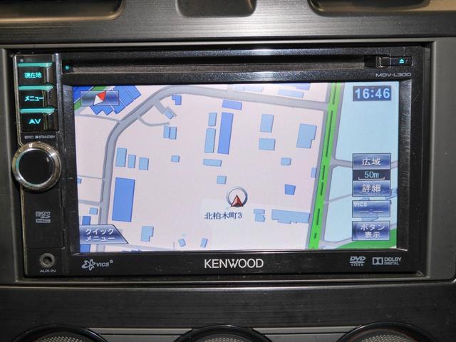 機能的で便利なSDナビが目的地までスムーズに道案内してくれるから安心♪CD聴けます!!