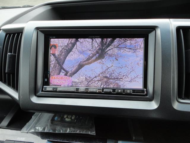 Z 4WD 外ナビDTV Bカメラ フリップダウンモニター スマートキー 新品17AWタイヤ 純正エアロ 純正HID 両側パワースライドドア ウインカーミラー 8人乗り 外Eスターター(10枚目)