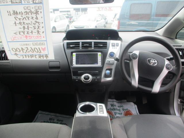 トヨタ プリウスアルファ S Lセレクション メモリーナビ ワンセグTV