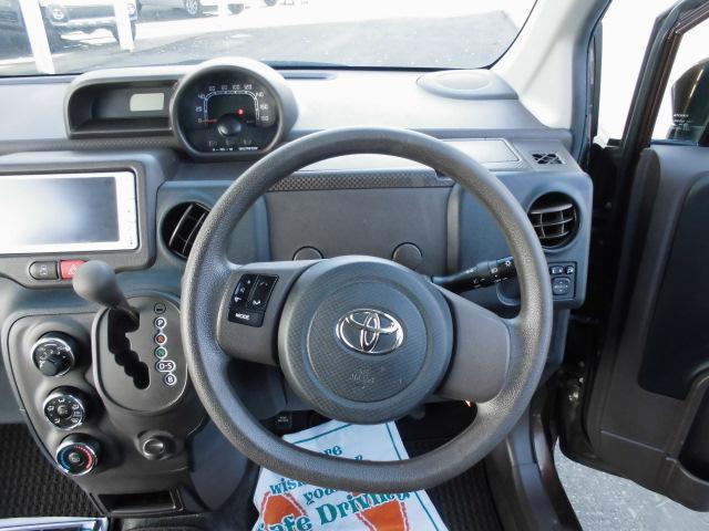 トヨタ スペイド Y 4WD 左パワスラ 純正メモリーナビ リアカメラ