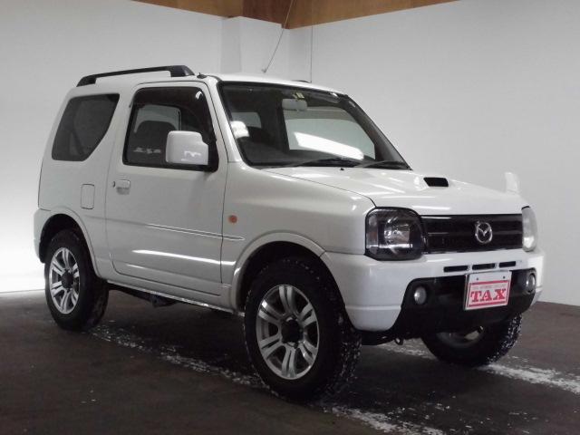 マツダ AZオフロード XC 4WD ワンオーナー キーレス 電動格納ミラー