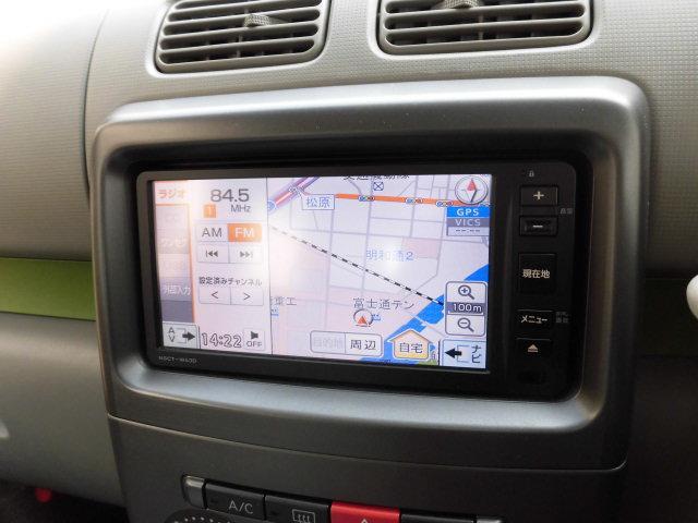 L 4WD エコアイドル ETC 純正SDナビ ワンセグTV(3枚目)
