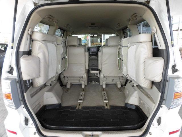 トヨタ アルファードハイブリッド Gエディション 4WD 両側パワスラ 純正HDDナビ HID