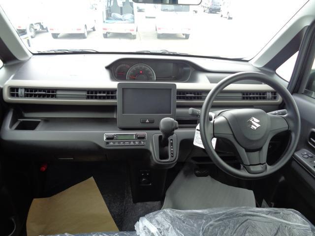 ハイブリッドFX 4WD プッシュスタート レーダーブレーキ 横滑り防止(3枚目)