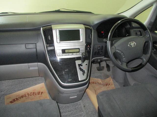 トヨタ アルファードG AS 4WD 8人乗 両側パワースライド ナビ バックカメラ