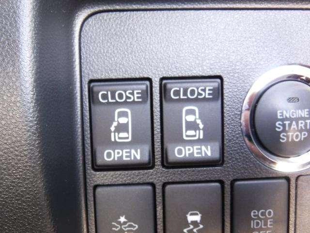 両側オートスライドドアであるととても便利です★
