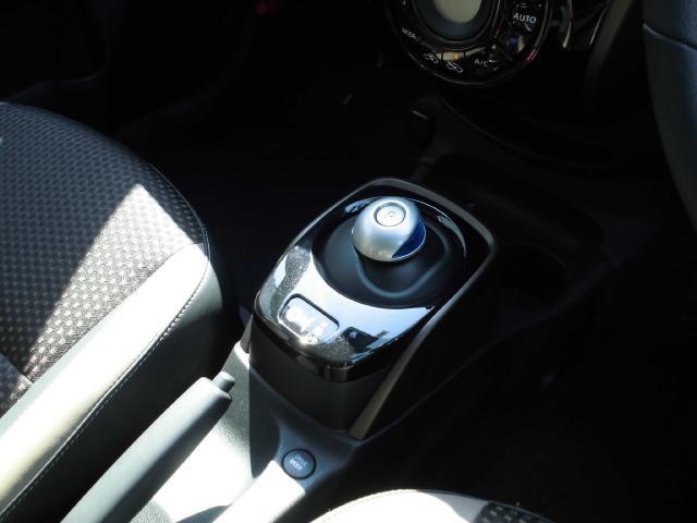 このシフトが電気自動車の証です♪