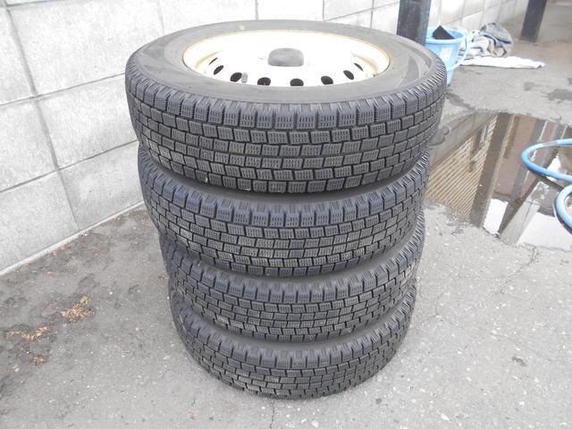 X 4WD 社外CDオーディオ 夏・冬タイヤ ABS(17枚目)