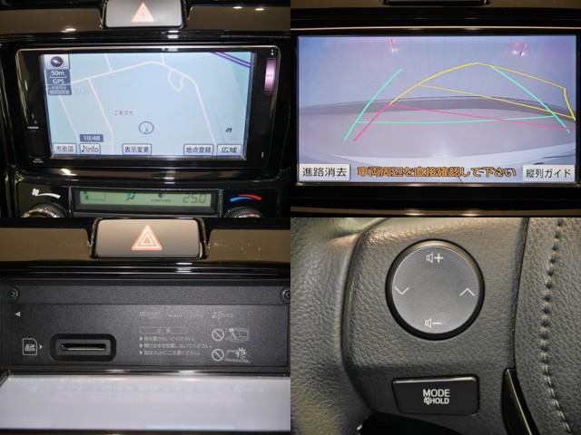 機能的で便利なSDナビ/バックガイドモニター/ナビモニターOPENすると音楽SD挿入口があります/手元で簡単なオーディオ操作ができるステアリングスイッチ