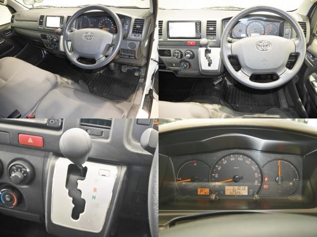 ロングDX 4WD メモリーナビ ミュージックプレイヤー接続可 バックカメラ ETC 乗車定員9人 3列シート ディーゼル(4枚目)