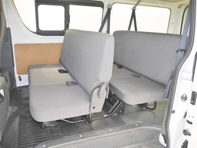 ロングDX 4WD メモリーナビ ミュージックプレイヤー接続可 バックカメラ ETC 乗車定員9人 3列シート ディーゼル(5枚目)