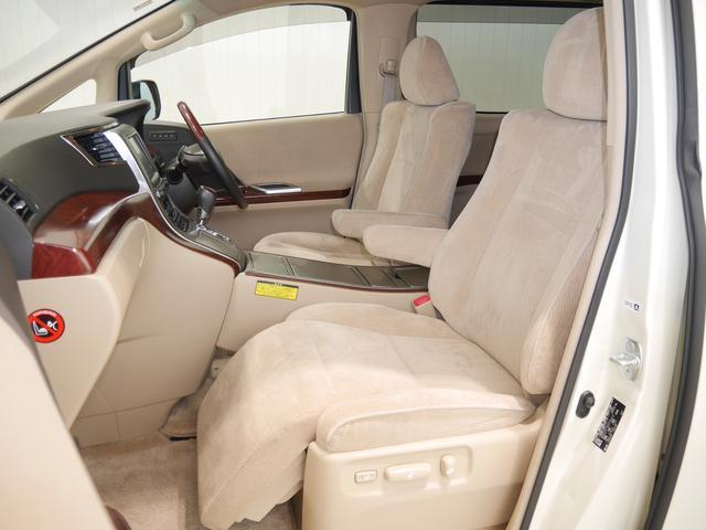 もしもの時も安心、安全なSRSサイドエアバック付き!運転席・助手席はパワーシート。助手席側にはオットマン付き。ポジションメモリー スイッチも付いてます