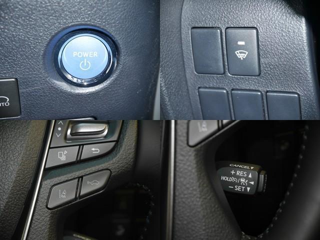 プッシュ式エンジンスターター/フロントガラス熱線/LTA・車間距離切り替え/クルーズコントロール