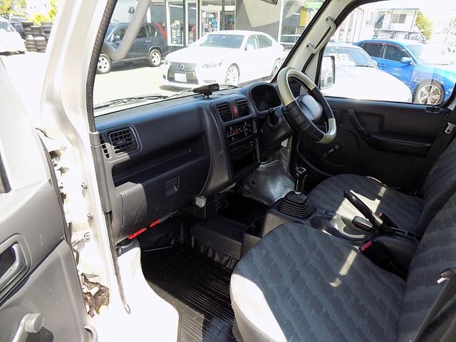 KCエアコン・パワステ エアコン パワステ 5速マニュアル 4WD(11枚目)