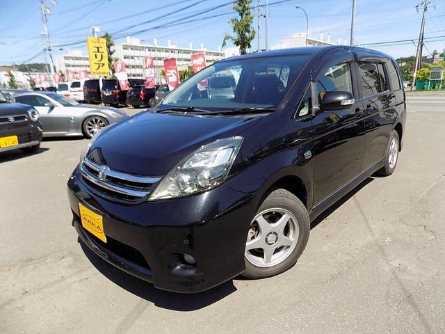 プラタナ 4WD 左パワースライドドア HID CD+MD(6枚目)