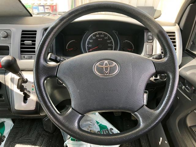 トヨタ レジアスエースバン III型 ウェルキャブx車いす2台積x4WDx天窓付き