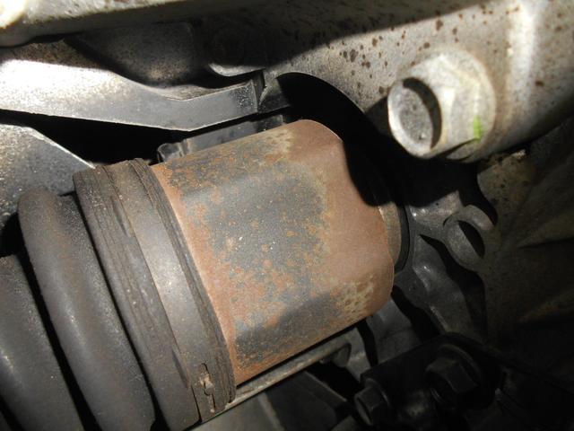 右ドライブシャフトオイル漏れ無し