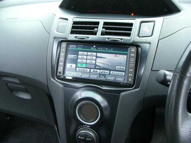 トヨタ ヴィッツ RS 5速マニュアル ナビ