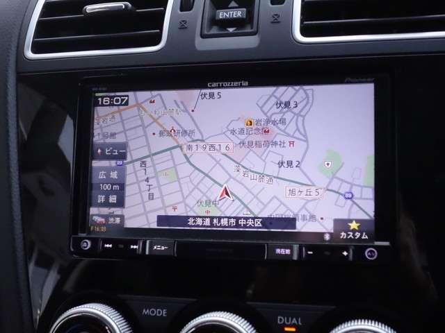 2.0i-L アイサイト 4WD 社外メモリーナビ(4枚目)