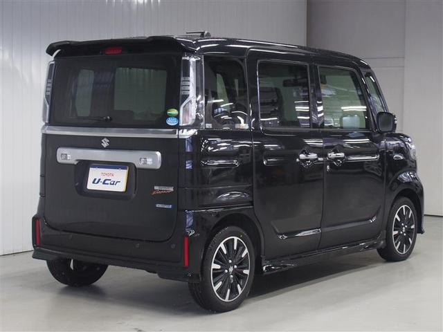 スズキ スペーシアカスタム ハイブリッドXS 4WD