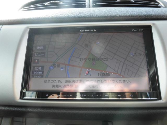 TV機能にDVD再生・BT機能と高性能な社外メモリーナビ付!
