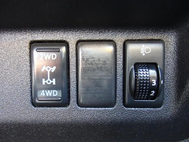 X FOUR e-4WD CVT プッシュスタート インテリジェントキー エンジンスターター SDナビ フルセグ 走行18000km(23枚目)