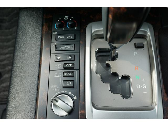 トヨタ ランドクルーザー ZX4WD 純正HDDナビテレビ・純正エアロ・黒本革シート